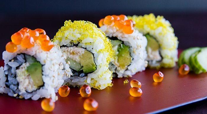 Perbedaan Antara Tabiko dan Ikura pada Sushi