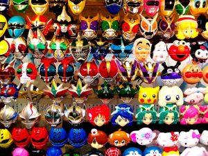 Topeng festival di jepang