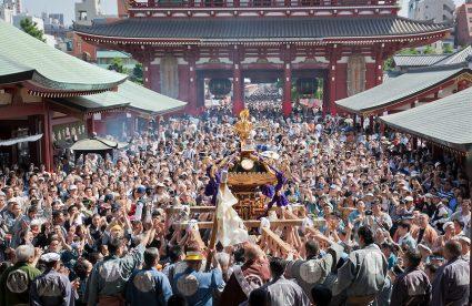 Sanja Matsuri Festival Terbesar di Tokyo