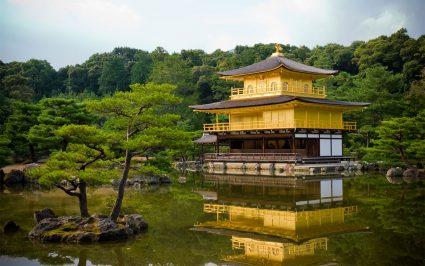 Wisata Ke Kinkakuji Kuil Berlapis Emas Di Jepang